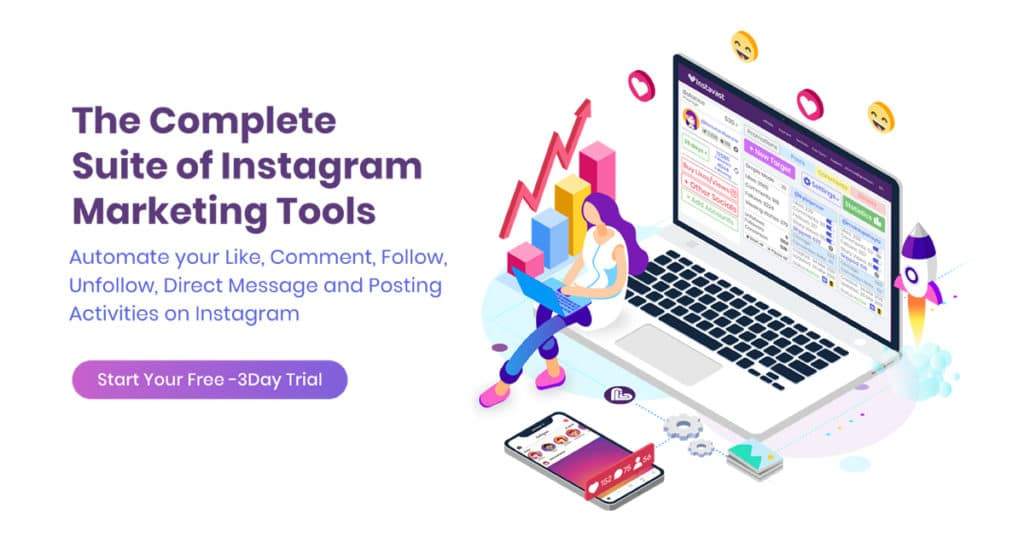 Instavast Instagram automation suite